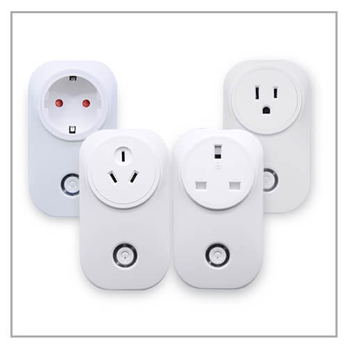 Smart Plug US/UK/EU/AU White Label Solution