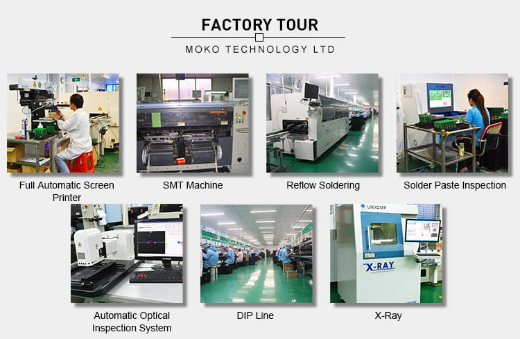 Professional intelligent wifi combination pcb manufacture and assembly
