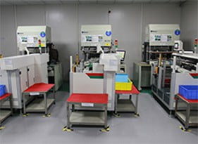 Fully automatic inspection machine