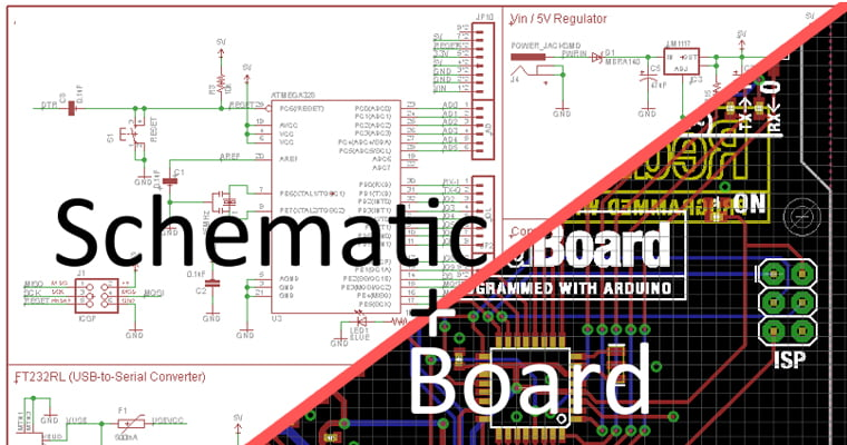 pcb layout Starts with a Schematic