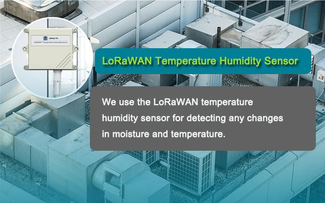 LoRaWAN температуры Датчик влажности