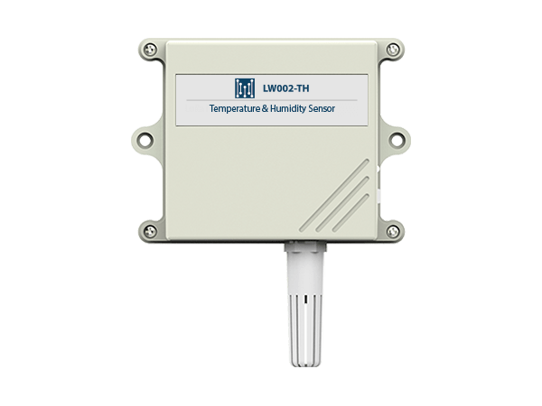 Temperature and humidity lorawan sensor