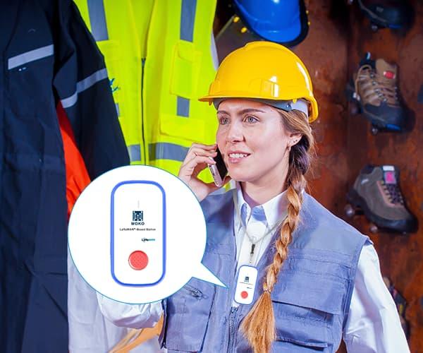 LW004-PB Wearable Beacon
