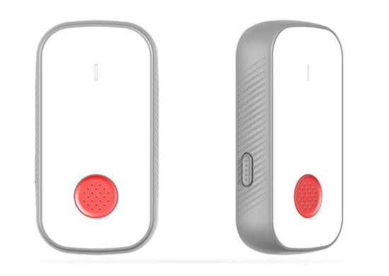 LoRaWAN-contactopsporing Wearable-knop