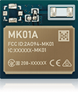 smallest Bluetooth Low Energy Module Series MK01A