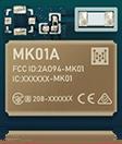 menor módulo Bluetooth da série MK01A