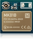 smallest Bluetooth Low Energy Module Series MK01B