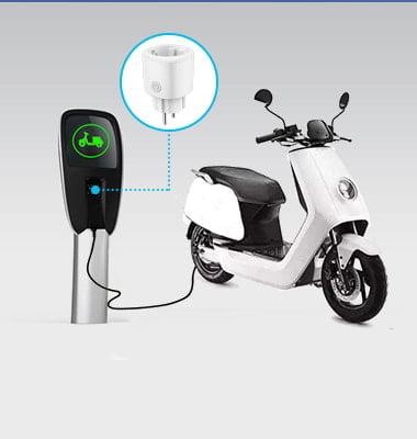 mk115 wifi plug socket for Motorcycle Charging Metering