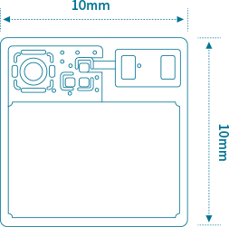 MK01 Tiny Bluetooth Module Structure diagram
