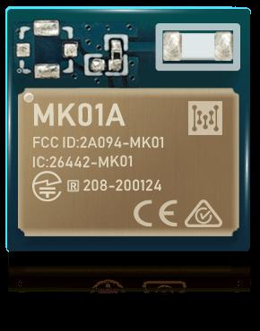 أصغر سلسلة وحدة بلوتوث منخفضة الطاقة MK01A