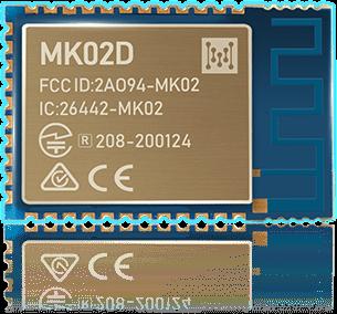 Módulo MK02D Bluetooth nRF52832 + Etiqueta NFC