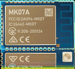 MK07A Bluetooth Mesh nRF52833 Module Banner