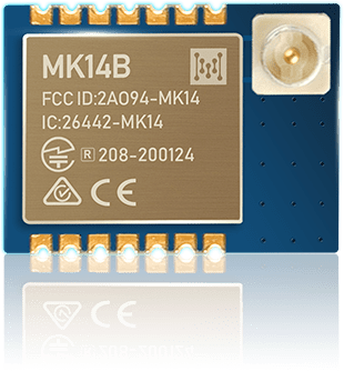 Bluetooth nRF52805 module MK14B