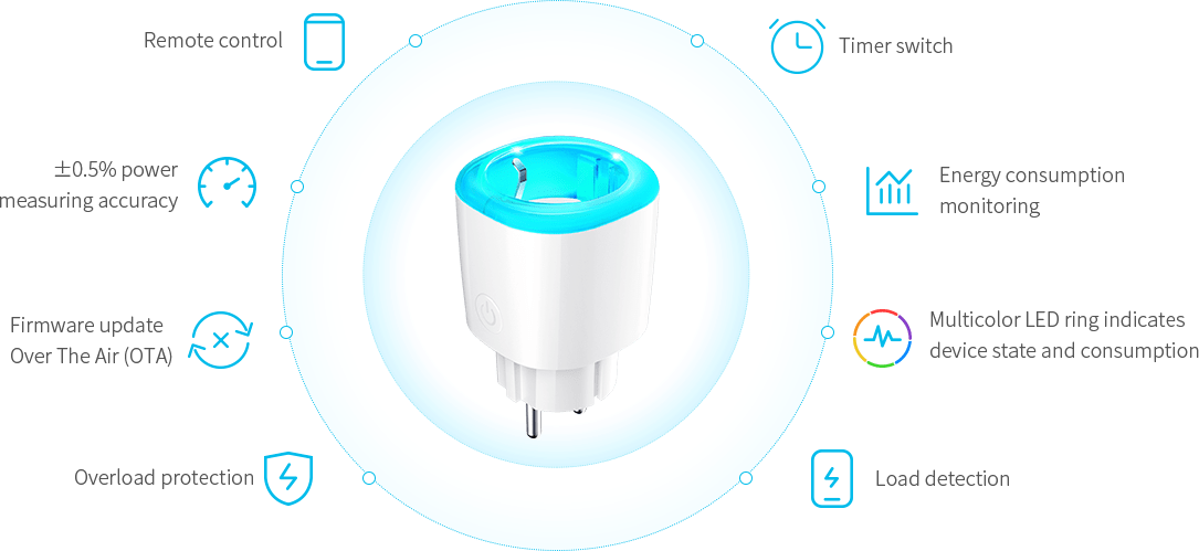 mk115 wifi smart plug Product Features