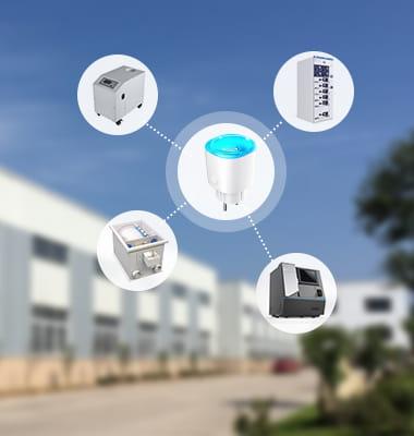 Enchufe inteligente de baja energía Bluetooth MK115B para control de equipos industriales