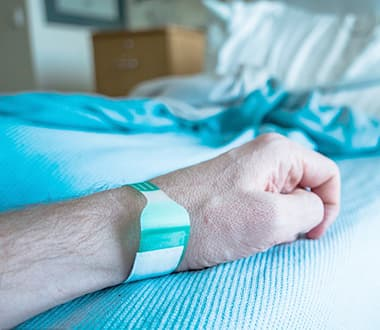 Health/Fitness monitoring in hospital